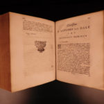 1696 1ed Dutch van Dale on Idolatry & Superstition Devil Magic Prophecy BANNED