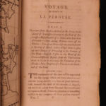 1800 1ed La Perouse Voyage Pacific Islands New Zealand Shipwreck MAP Billardiere