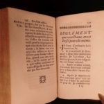 1698 1ed Jeanne de Schomberg Housekeeping Motherhood Parenting French Liancourt