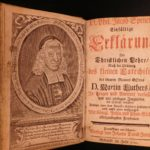 1742 Philipp Spener On Martin Luther Small Catechism Lutheran Devotional Pietism