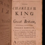 1736 Robert Barclay QUAKER Apology for Christian Divinity Doctrine Scotland