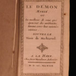 1748 Machiavelli The Demon Takes a Wife Belfagor Demonology anti-Feminist Devils
