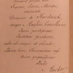 1753 1ed Court of Caesar Augustus Scottish Blackwell SIGNED + PROVENANCE Binding
