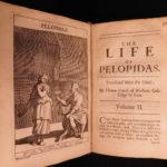 1676 Plutarch Parallel Lives Alcibiades Marcus Cato Aristides GREEK English RARE