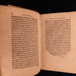 1544 Gasparo Contarini De Magistratibus VENICE Italy Venetian Politics Froben