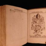 1595 1ed Effegies POPES Catholic Church Italian Cavalieri 200 Portraits St Peter