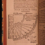 1594 Stoffler Astrolabii Astronomy Horology Navigation Astrology Mathematics
