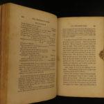 1835 1st ed Davy Crockett American Tour Politics anti Andrew Jackson Alamo Folk