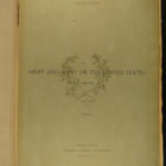 1889 ENORMOUS Army & Navy US Military Battles War History COLOR Illustrated
