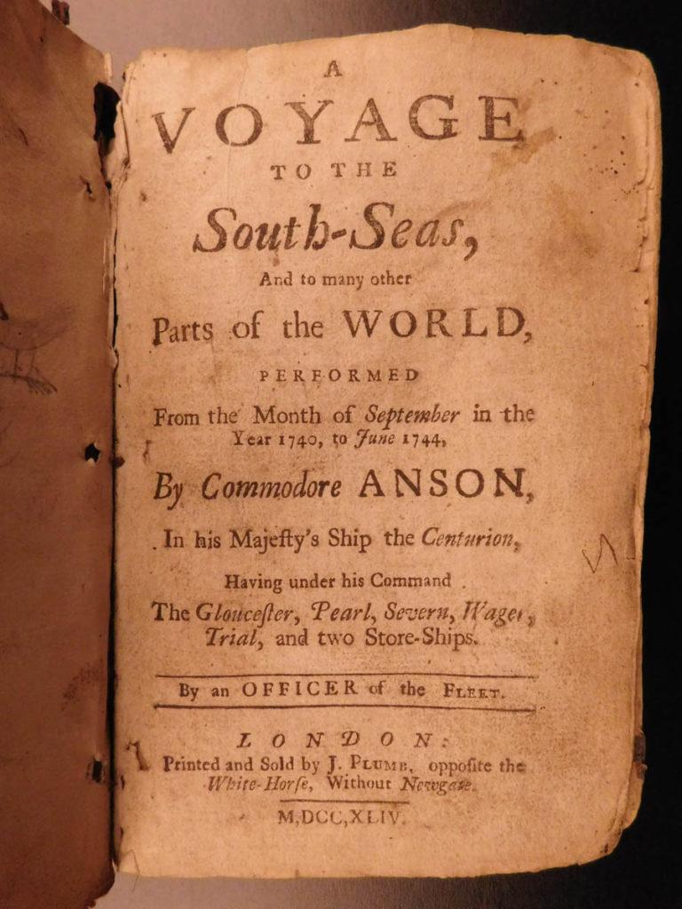 Image of 1744 RAREST George Anson Voyage to South-Seas South America Brazil Peru Chile