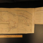 1864 1ed Battle of Gettysburg Notes Rebel Invasion EARLY American Civil War MAP