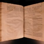 1585 Medieval LAW William Durand Speculum Juris &  Baldus Ubaldis Commentary