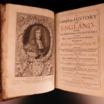 1685 1ed Brady History of England William the Conqueror Richard II Saxons FOLIO