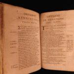 1597 Poetry of Oppian Greco-Roman FISHING & Hunting Commodus Greek Plantin RARE