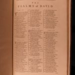 1776 ENORMOUS Folio Book of Common Prayer Bible Psalms Church of England OXFORD