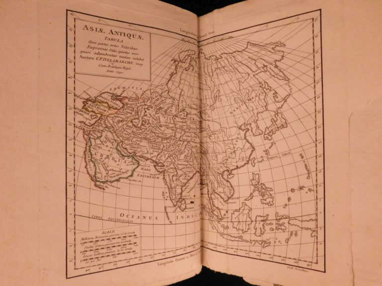 Image of 1790 Delamarche ATLAS MAPS Ancient Geography Asia Africa Turkey Macedonia Syria