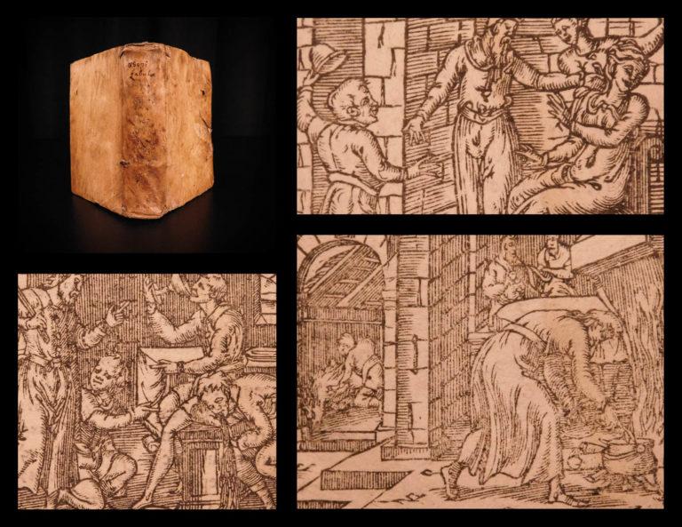 Image of 1609 Aesop's Fables Greek Mythology AESOP Planudes Homer Batrachomyomachia Latin