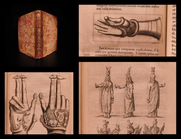 Image of 1669 Pignoria Mensa Isiaca EGYPT Illustrated Egyptian Hieroglyphics A. Kircher
