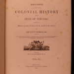 1853 HUGE Colonial History New York Indian Battle Native American MAPS 7v SET