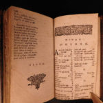 1657 GREEK Aesop's Fables AESOP Folklore Mythology London Roger Daniel
