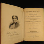 1889 NURSING Mary Livermore Story of Civil War Women Hospitals Union FEMINISM