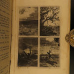1873 Jules Verne Five Weeks in Balloon Adventure Voyages Illustrated 80 Days