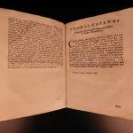 1715 Domenico Viva Damnatorum Thesium Catholic Heresy Bulls Pope Alexander VII