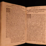 1654 Heser Bible & Commentary on Psalms of David in Medieval Manuscript Binding!