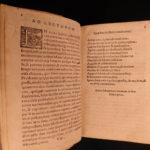 1561 Aesop's Fables Greek Mythology Planudes Life of AESOP Homer Latin & Greek