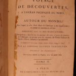 1800 1ed Vancouver Voyage to North Pacific Canada Alaska Illustrated French