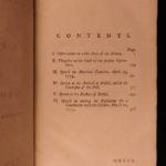 1777 Edmund Burke Political Tracts Colonial AMERICA Taxation Speeches Americana