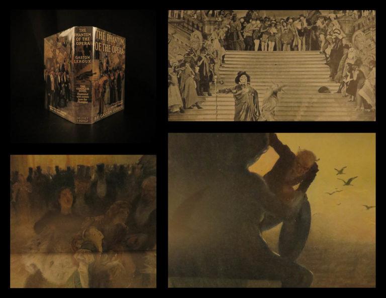 Image of 1925 Phantom of the Opera Gaston Leroux Lon Chaney Color Photoplay FAMOUS Webber