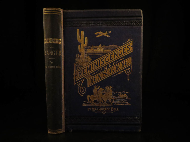 Image of 1881 1st/1st Reminiscences of a Ranger Los Angeles California Gold Rush Indians