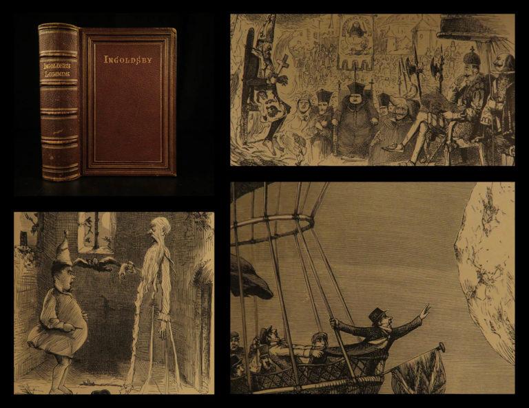 Image of 1882 Ingoldsby Legends Occult Ghosts Devils Illustrated Cruikshank Abracadabra