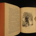 1882 Ingoldsby Legends Occult Ghosts Devils Illustrated Cruikshank Abracadabra