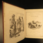 1865 EXQUISITE Arabian Nights 1001 Entertainments Sinbad Dalziel Illustrated 2v
