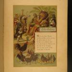 1890 Reynard Fox Middle Ages Fairytale Reineke Fuchs Folklore Glogow Poland