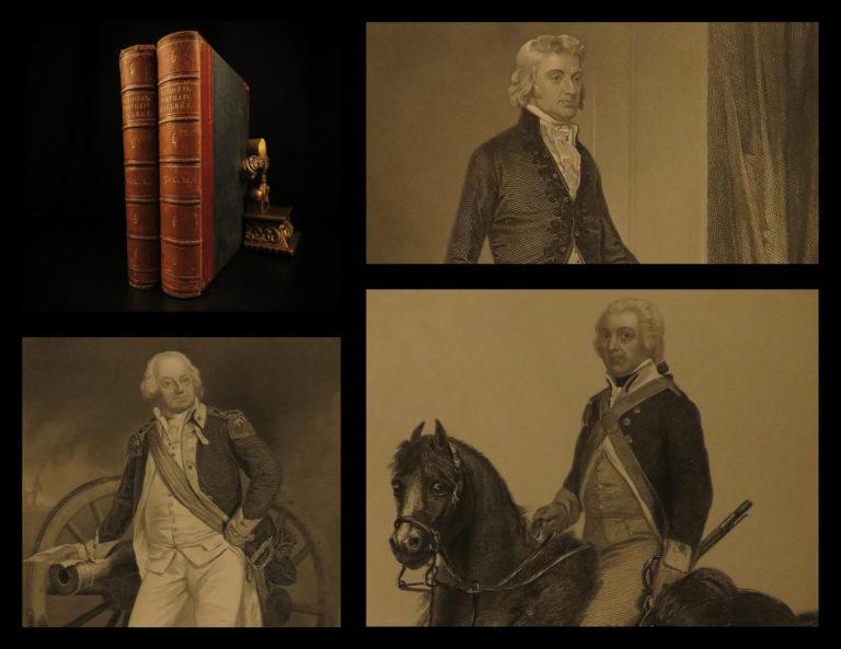 Image of 1862 National Portrait Gallery Alonzo Chappel George Washington Thomas Jefferson