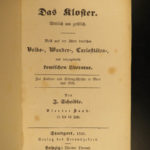 1846 1ed Das Kloster Scheible Occult Fairy Tales Superstitions Murner Theuerdank