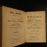 1847 1ed Das Kloster Scheible Occult Fairy Tales Superstitions PAGAN Calendar