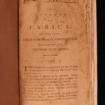 1797 United States Constitution Letters Fabius Founding Fathers John Dickinson