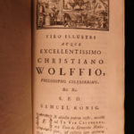 1758 German Mathematics Physics Experiments Wolff Elementa Universae Philosophy