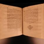 1761 1ed Bohadsch Marine Biology Marinis & Microscopic Life Zoology Illustrated