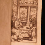 1665 Jonston Thaumatographia Naturalis Science UNICORNS Medicine Astronomy RARE