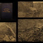 1871 Croffut Trans-Continental RAILROAD Tourist Guide American West Illustrated