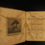 1815 NAPOLEON & French Revolution MAPS Impartial History Clarke Napoleonic Wars