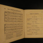 1864 Masonic Choir Sheet Music Hymns Quartet Freemasonry Civil War Military