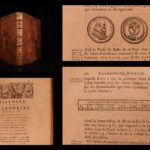 1682 1st ed Blondel History of Roman & Gregorian Calendar Time Keeping Galileo