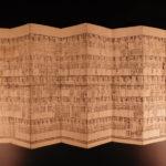 1828 Japanese Illustrated MAP Edo Five Routes Dochu Samurai Woodblock Japan