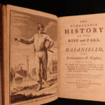 1756 History of Masaniello Revolt in NAPLES Giraffi Dutch Habsburg Spain English